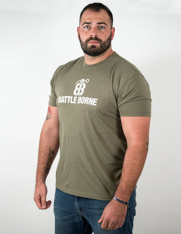 Next Level OD Green T-Shirts