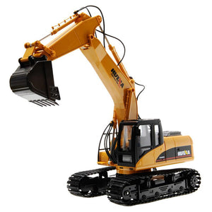 1:50 Excavator Machine Alloy Construction