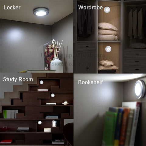 6 LED Motion Sensor Magnetic Night Light