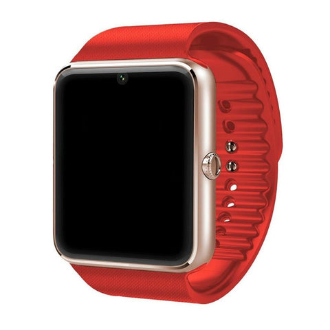 Image of Bluetooth Smart Watch With SIM Card Slot And 2.0MP Camera