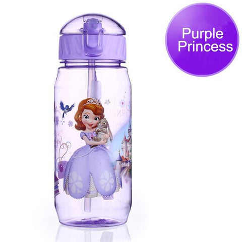 Image of Disney Bottle For Children Eco-friendly With Lid And Straw