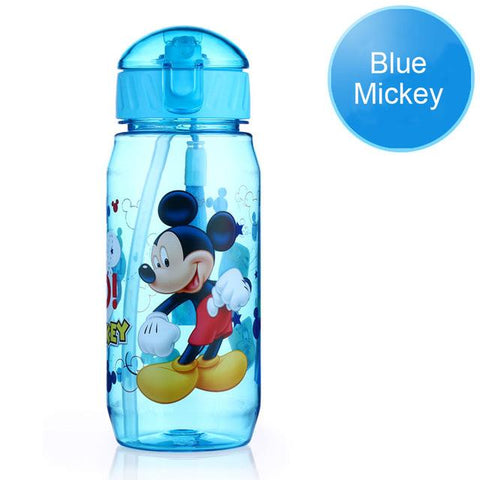 Disney Bottle For Children Eco-friendly With Lid And Straw