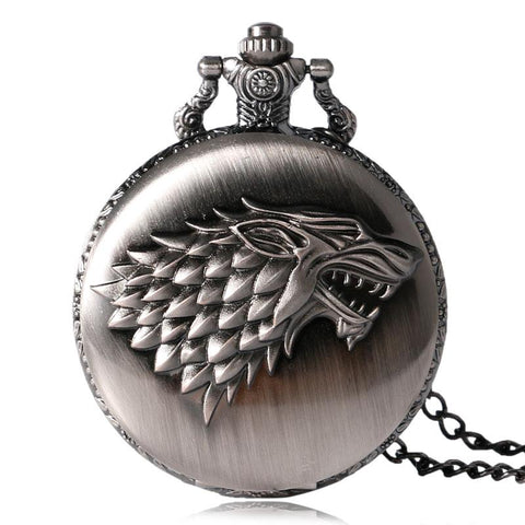 Game Of Thrones Pocket Watch House Stark