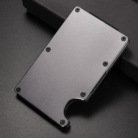 Money Clip Credit Card ID Holder With RFID Anti-theft