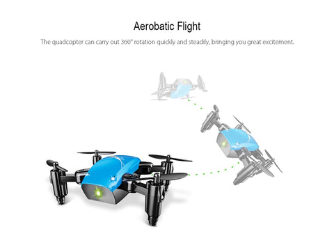 Image of Mini Altitude Hold Foldable Drone With HD Camera