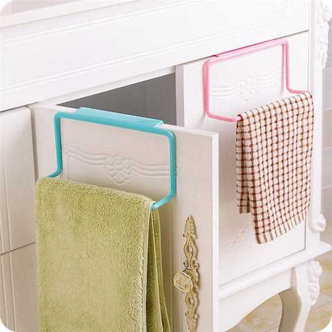 Bathroom Kitchen Cabinet Towel Hanger