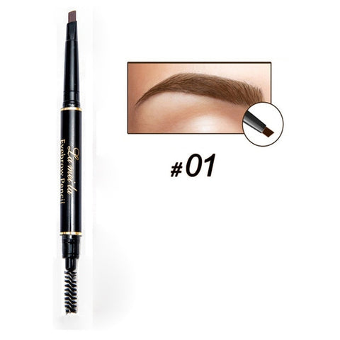 Image of Multi-functional Waterproof Eyebrow Pencil with Brush