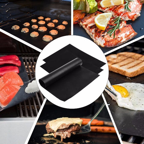 Image of Non-stick Barbecue Grill Baking Mat