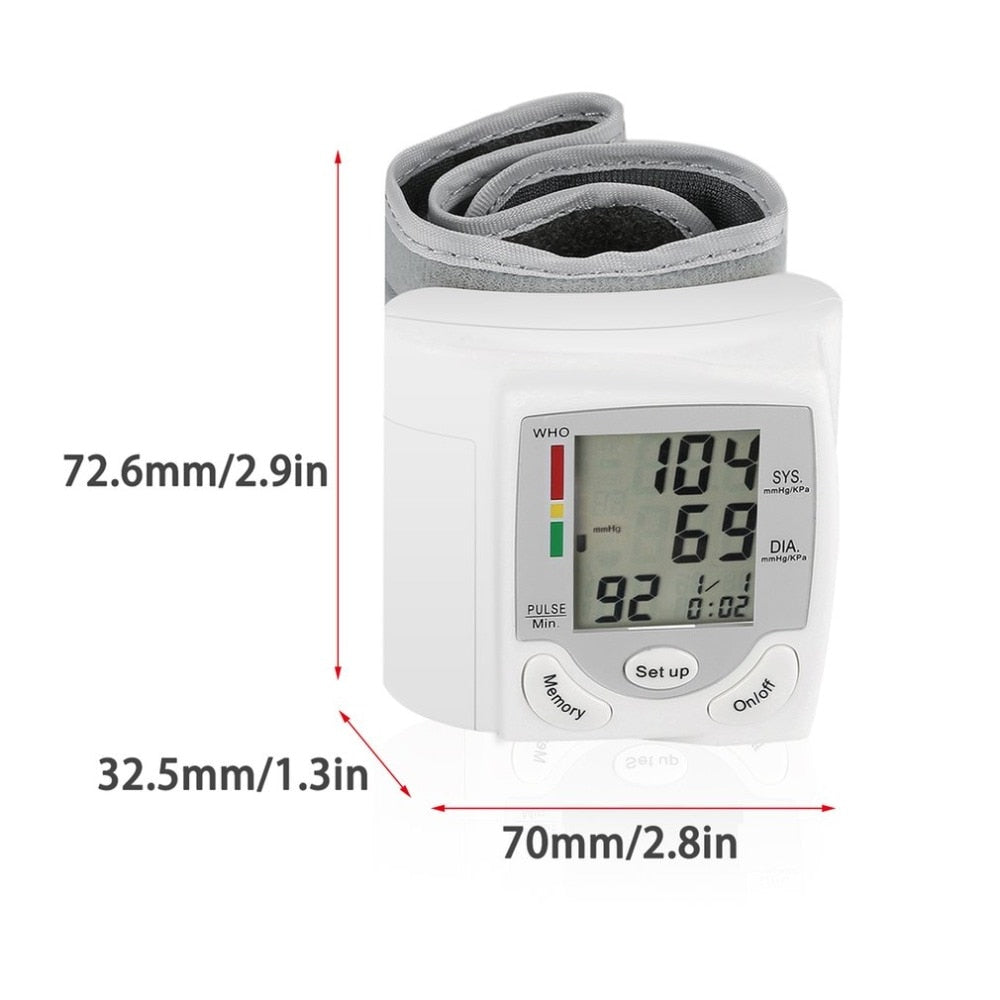 Digital Blood Pressure Monitor