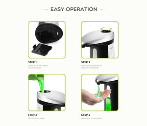 400Ml Automatic Liquid Soap Dispenser