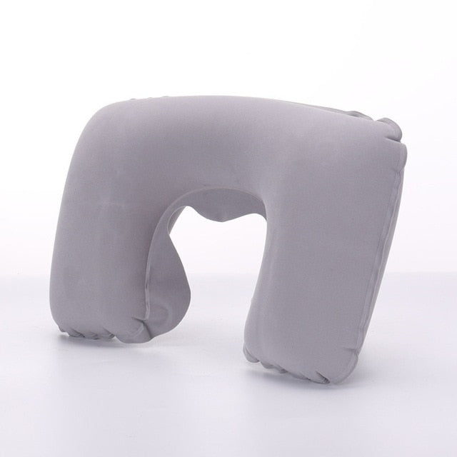 Inflatable U Shape Neck Travel Pillow