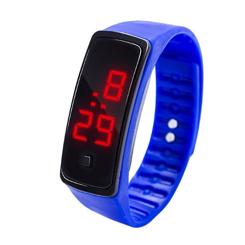 Image of Digital LED Sports Running Wrist Watch