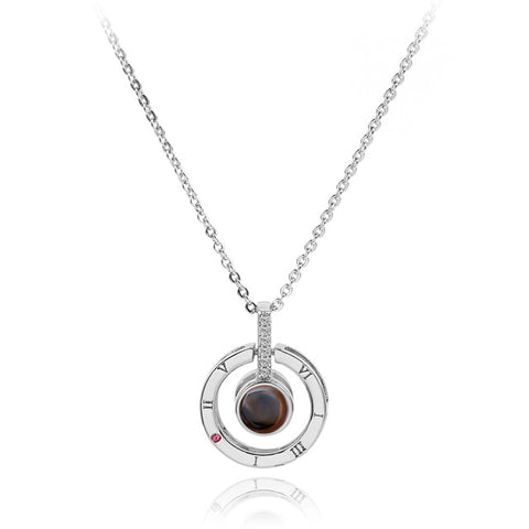 Image of Projection Pendant Necklace