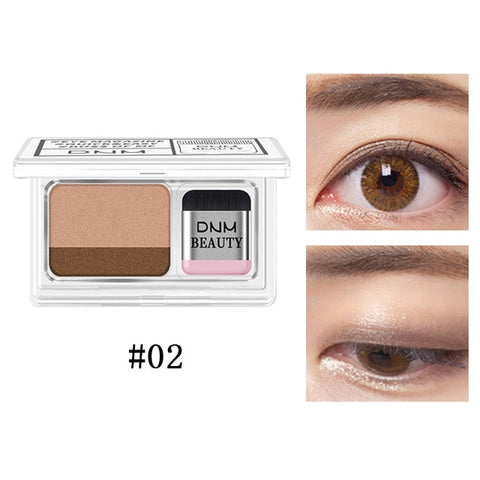 Image of Double Color Waterproof Eyeshadow