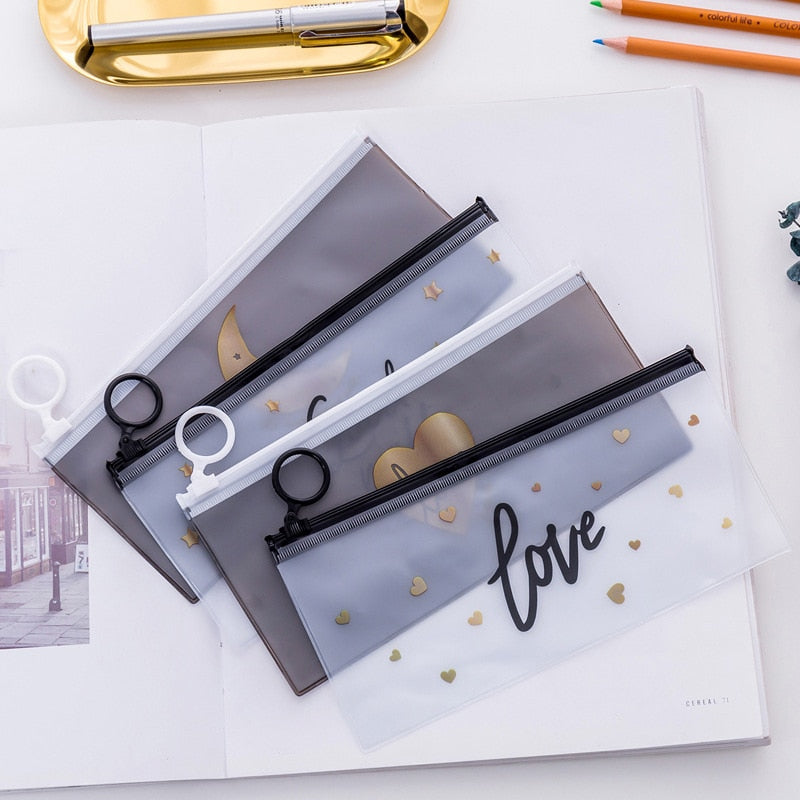 Transparent Pen Pencil Box