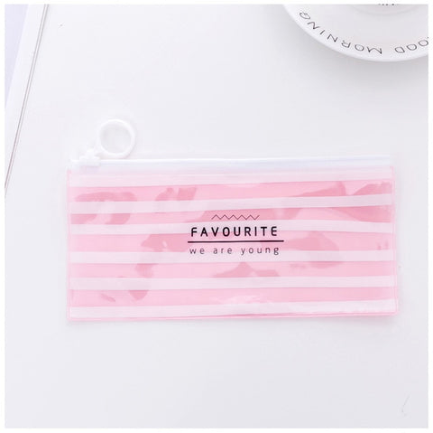 Image of Transparent Pen Pencil Box