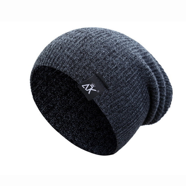 Winter Hat Knitted Wool
