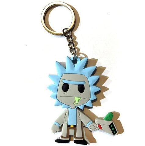 Rick And Morty Keyring Pendant