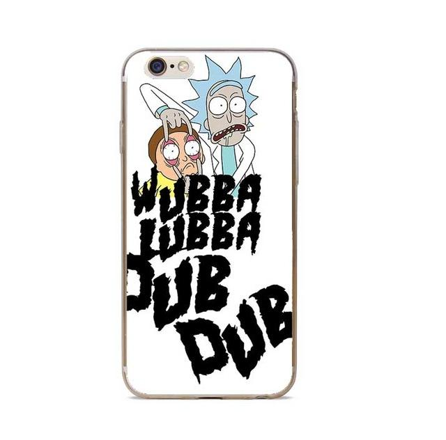 Rick And Morty Phone Case Cover For IPhone