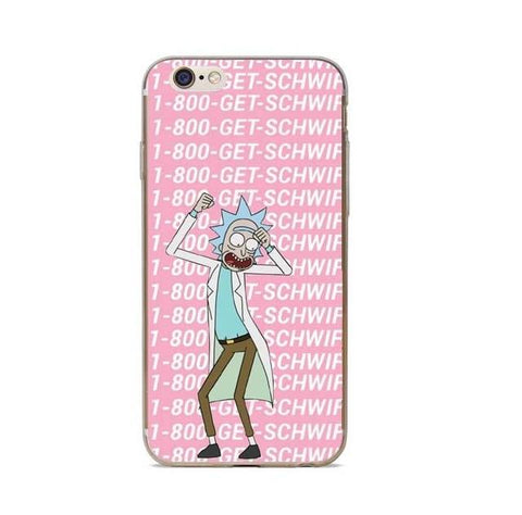 Image of Rick And Morty Phone Case Cover For IPhone