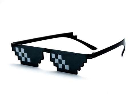 "Image of ""Thug Life"" Pixel Glasses"