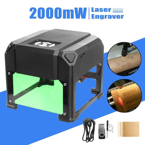 Image of USB Desktop Laser Engraving Machine