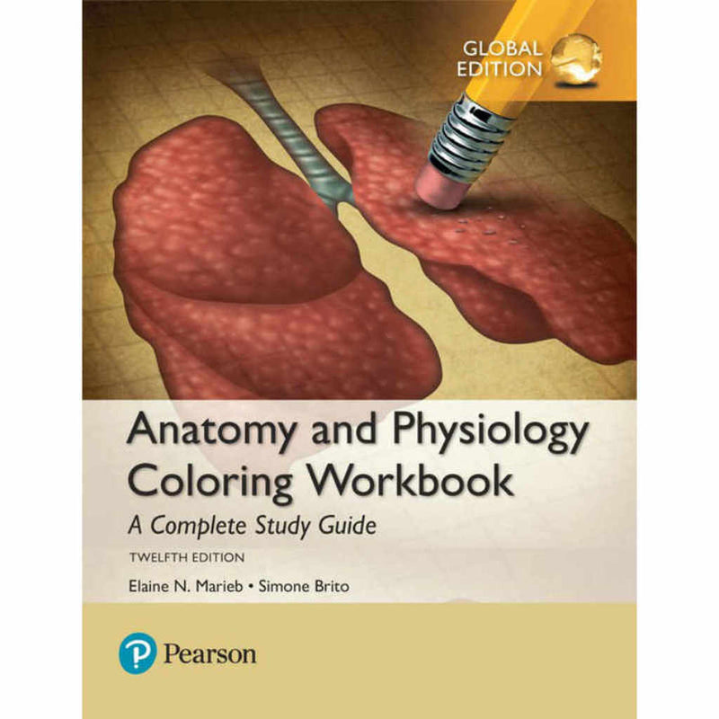 Anatomy & Physiology Coloring Workbook 12th Ed