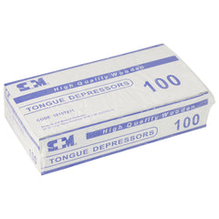 Tongue Depressor - Box of 100