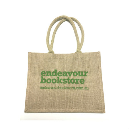 Bookstore Hessian Carry Bag