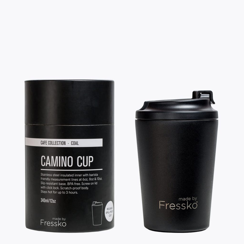 Fressko Camino Cup Black/Coal 340ml