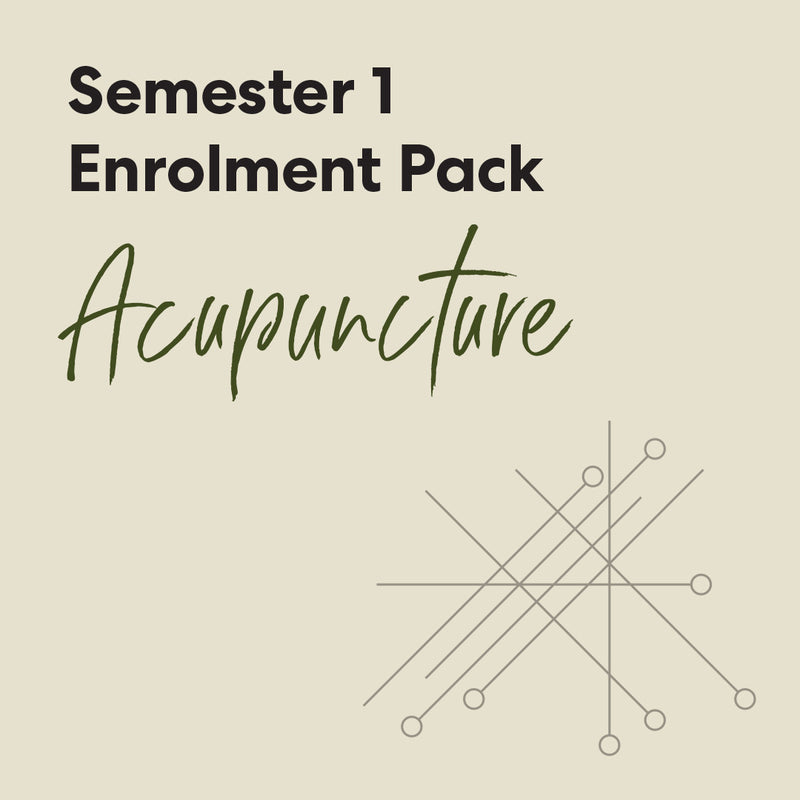 Bachelor of Health Science (Acupuncture) - First Semester Textbook Pack