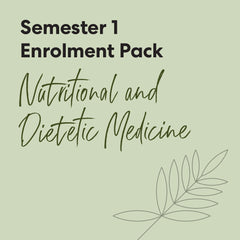 Bachelor of Health Science (Nutritional & Dietetic Medicine) - First Semester Textbook Pack