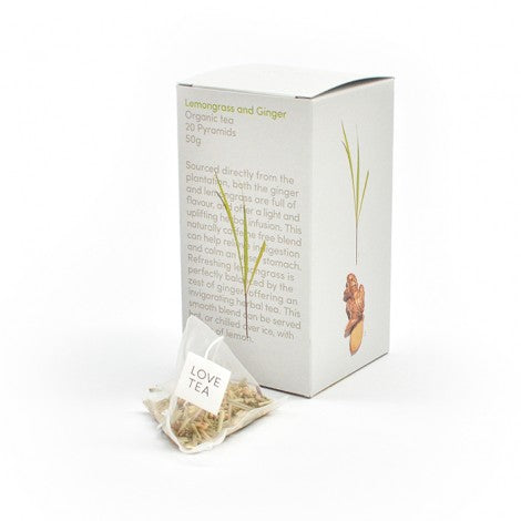 Lemongrass & Ginger Pyramid Tea Bags