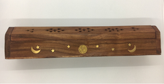 Incense Holder - Incense Cone Timber Box