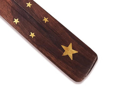 Wooden Incense Ash catcher - star