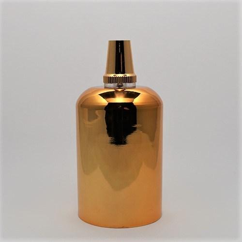 Gold Metal E27 Pendant Lamp Holder