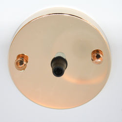 Light Gold Ceiling Rose 100mm