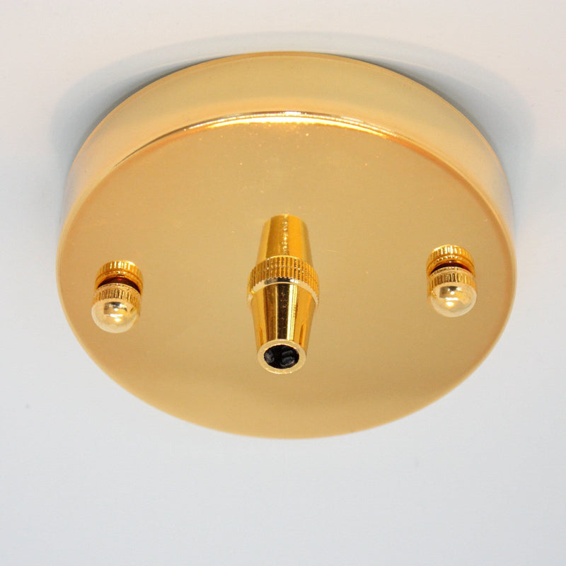 Gold Ceiling Rose 100mm