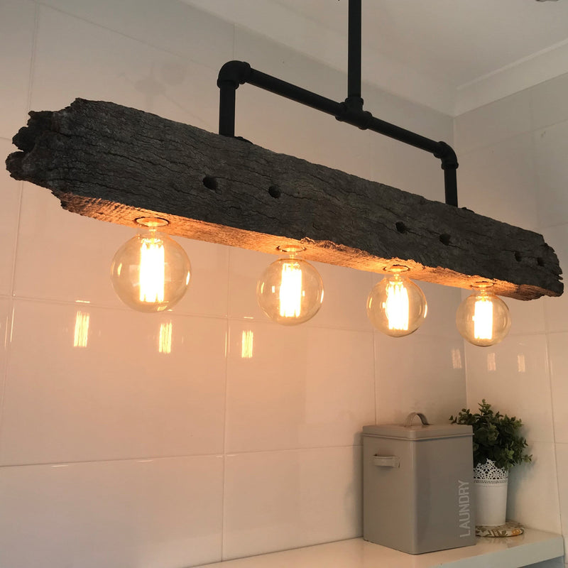 Industrial Style Barossa Timber Light
