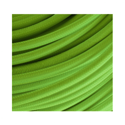 Braided Green Cloth Covered Cable | 3 Core 0.75mm Flex Per Metre | Rustic Lighting Co.