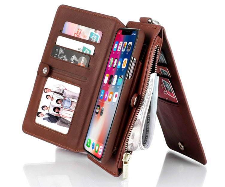 Multi-Function Leather Phone Case