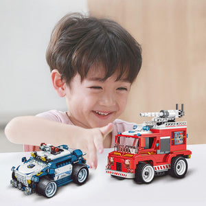 Building Block Remote Control Car Toy