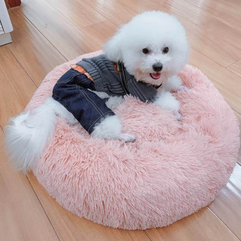Soft Warm Round Pet Bed