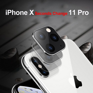 (2PCS) Change Your iPhone X to iPhone 11 Right Away