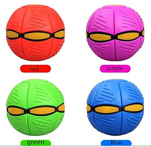 【Hot sale!!!】UFO Magic FootBall Flying Flat Throw Disc Kids Outdoor Toy