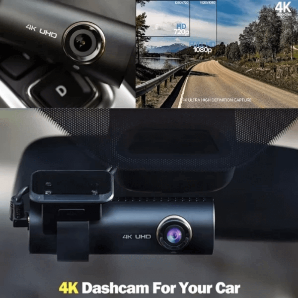 🎄Christmas Sale🎄 - 4K UHD Wide-Angle Lens Car Drive Recorder