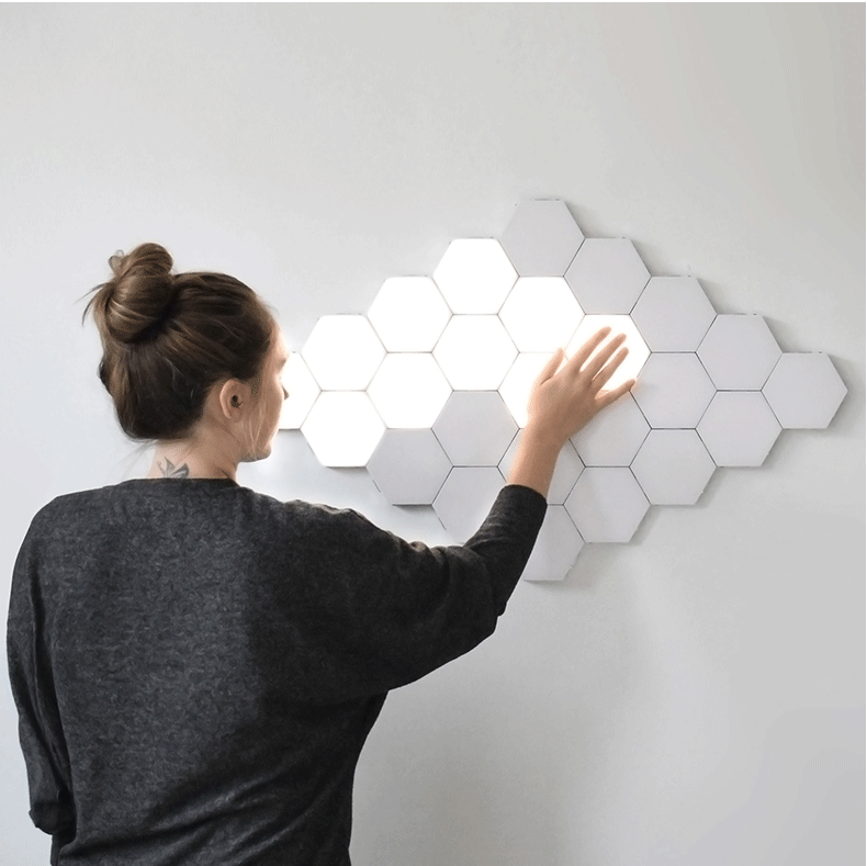 (Create your beauty)Creative Ouch Art Hexagonal Lamp