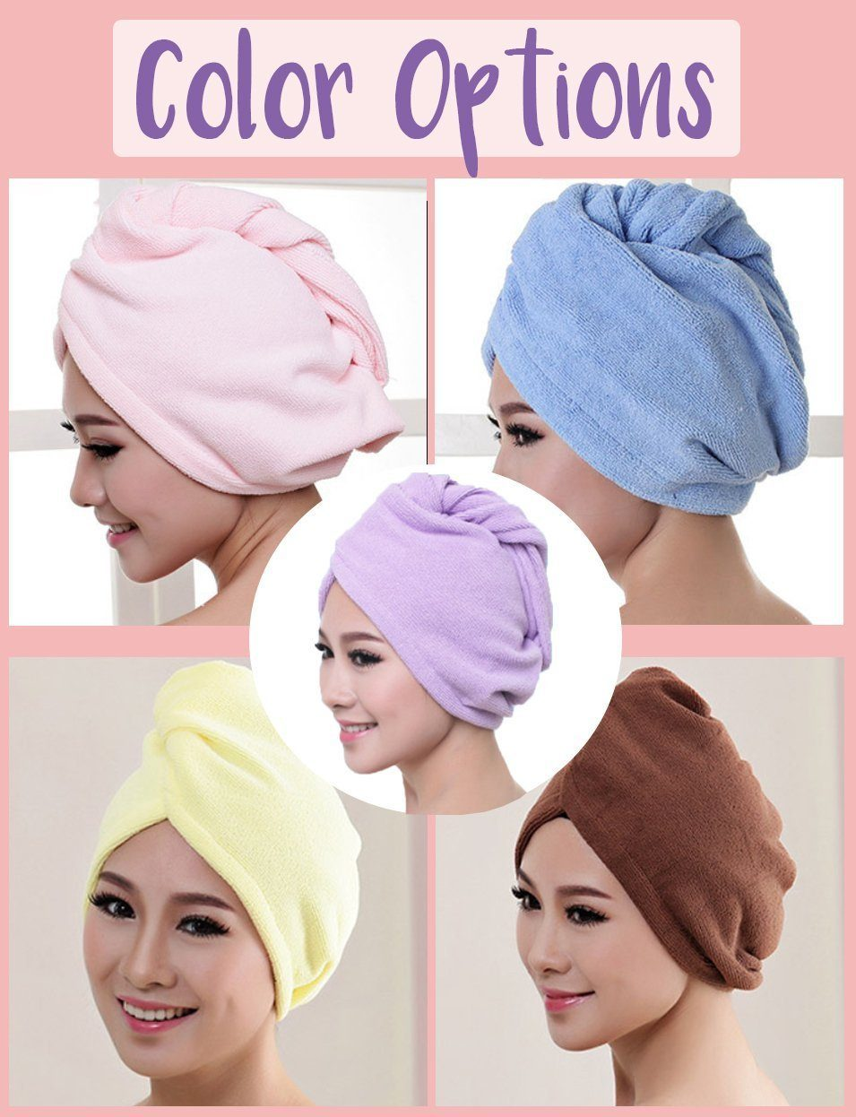 🎄Christmas Sale🎄Magic Instant Dry Hair Towel
