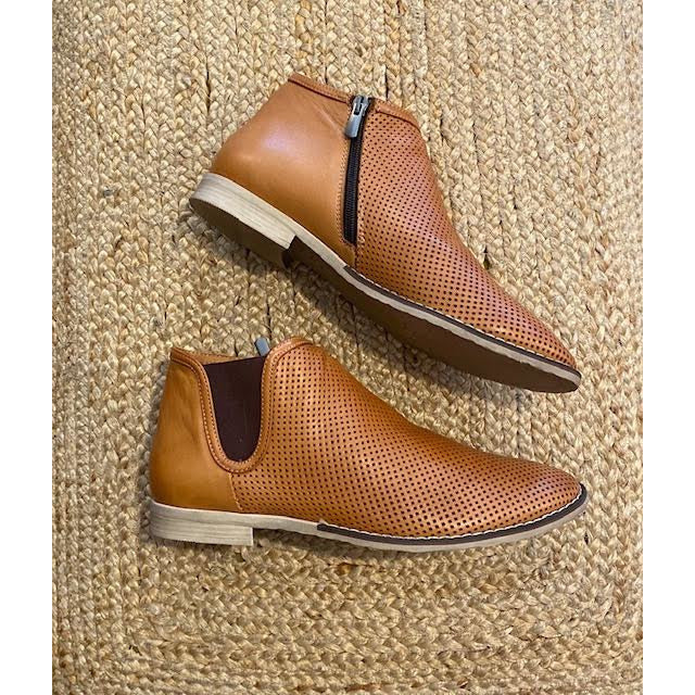 tracy coconut ankle boot ( tan)