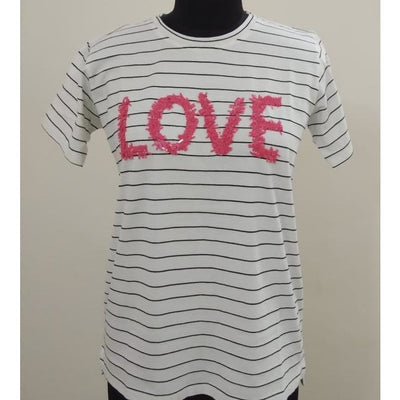 JG Love tee -yarn dyed